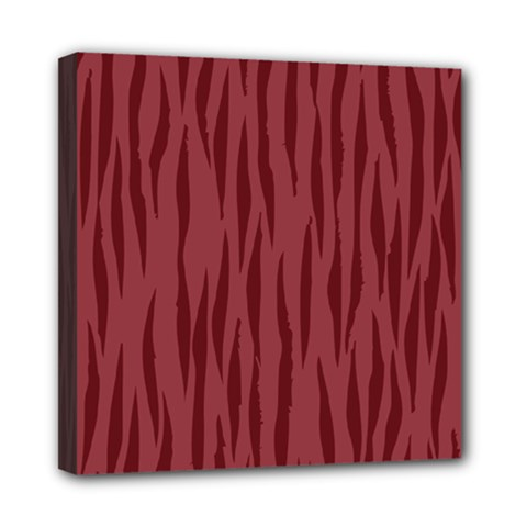 Autumn Animal Print 12 Mini Canvas 8  X 8  by tarastyle