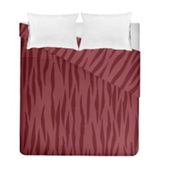 Autumn Animal Print 12 Duvet Cover Double Side (full/ Double Size) by tarastyle