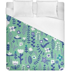 Cute Doodle Flowers 9 Duvet Cover (california King Size) by tarastyle