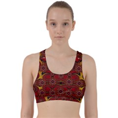 Pumkins  In  Gold And Candles Smiling Back Weave Sports Bra by pepitasart