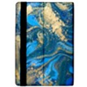 ocean blue gold marble Apple iPad Pro 9.7   Flip Case View4