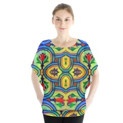 L ooera In Lyrical Abstraction Blouse