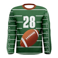 Football  Men s Long Sleeve Tee by Wanni