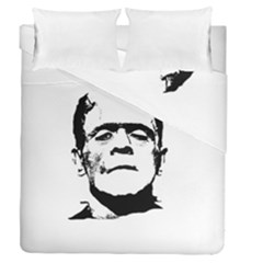 Frankenstein s Monster Halloween Duvet Cover Double Side (queen Size)