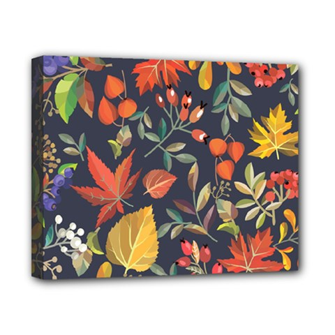 Autumn Flowers Pattern 8 Canvas 10  X 8  by tarastyle