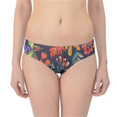 Autumn Flowers Pattern 8 Hipster Bikini Bottoms by tarastyle