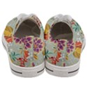 Autumn Flowers Pattern 9 Women s Low Top Canvas Sneakers View4