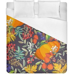 Autumn Flowers Pattern 12 Duvet Cover (california King Size) by tarastyle
