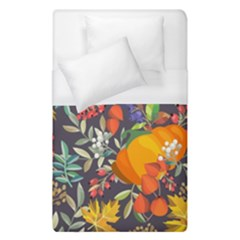 Autumn Flowers Pattern 12 Duvet Cover (single Size) by tarastyle