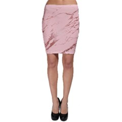 Luxurious Pink Marble 3 Bodycon Skirt by tarastyle