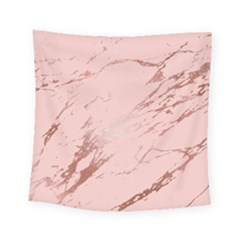Luxurious Pink Marble 3 Square Tapestry (small) by tarastyle