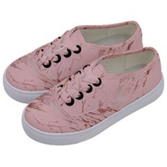 Luxurious Pink Marble 3 Kids  Classic Low Top Sneakers by tarastyle