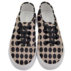 Circles1 Black Marble & Sand Women s Classic Low Top Sneakers