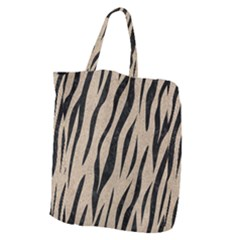 Skin3 Black Marble & Sand Giant Grocery Zipper Tote by trendistuff