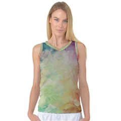 Painted Canvas                                 Women s Basketball Tank Top by LalyLauraFLM