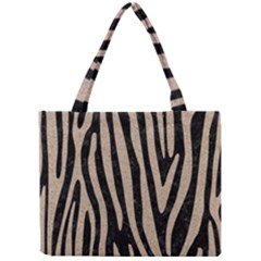 Skin4 Black Marble & Sand Mini Tote Bag by trendistuff