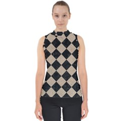 Square2 Black Marble & Sand Shell Top by trendistuff
