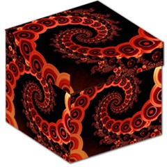 Chinese Lantern Festival For A Red Fractal Octopus Storage Stool 12   by jayaprime