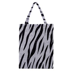 Skin3 Black Marble & Silver Glitter Classic Tote Bag by trendistuff