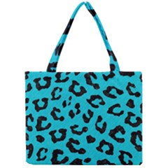 Skin5 Black Marble & Turquoise Colored Pencil (r) Mini Tote Bag by trendistuff