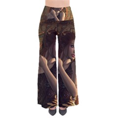 Wonderful Steampunk Women With Clocks And Gears Pants by FantasyWorld7