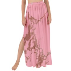 Luxurious Pink Marble Maxi Chiffon Tie Up Sarong