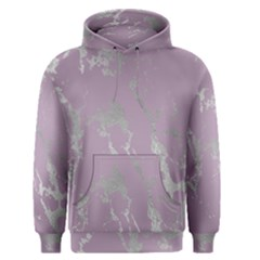 Luxurious Pink Marble Men s Pullover Hoodie by tarastyle