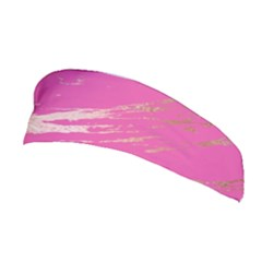 Luxurious Pink Marble Stretchable Headband