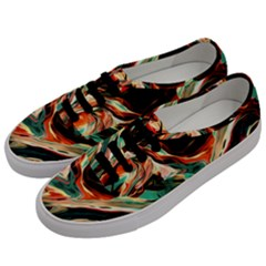 Abstract Acryl Art Men s Classic Low Top Sneakers by tarastyle