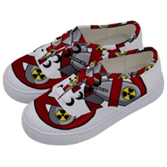 No Nuclear Weapons Kids  Classic Low Top Sneakers by Valentinaart
