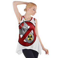 No Nuclear Weapons Side Drop Tank Tunic