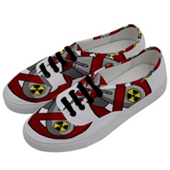 No Nuclear Weapons Men s Classic Low Top Sneakers by Valentinaart