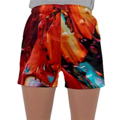 Abstract Acryl Art Sleepwear Shorts