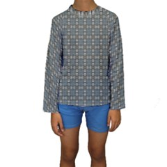 Earth Tiles Kids  Long Sleeve Swimwear