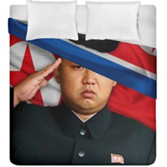 Kim Jong Un Duvet Cover Double Side (king Size)