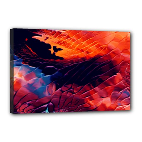 Abstract Acryl Art Canvas 18  X 12  by tarastyle