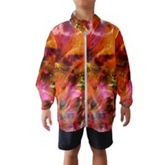 Abstract Acryl Art Wind Breaker (kids) by tarastyle