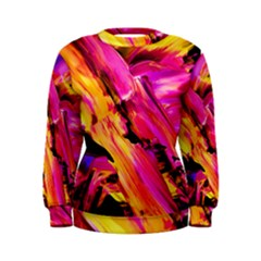 Abstract Acryl Art Women s Sweatshirt by tarastyle