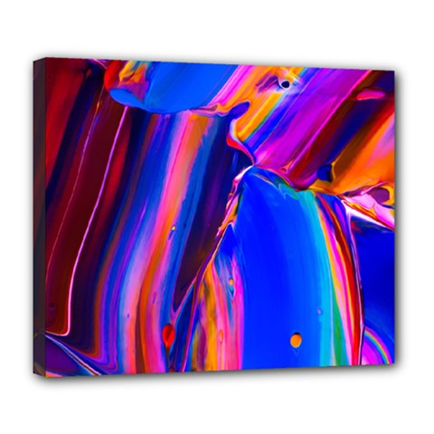 Abstract Acryl Art Deluxe Canvas 24  X 20   by tarastyle