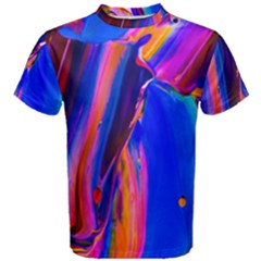 Abstract Acryl Art Men s Cotton Tee by tarastyle