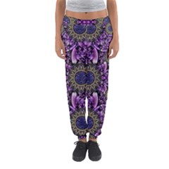 Flowers From Paradise In Fantasy Elegante Women s Jogger Sweatpants by pepitasart
