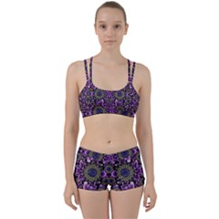 Flowers From Paradise In Fantasy Elegante Women s Sports Set by pepitasart