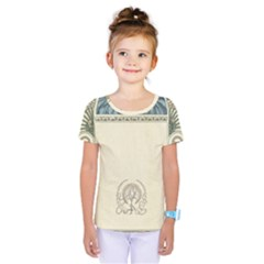 Art Nouveau Kids  One Piece Tee by 8fugoso