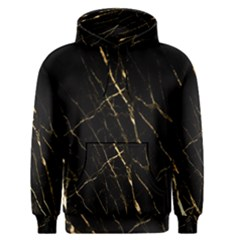 Black Marble Men s Pullover Hoodie by 8fugoso
