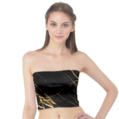 Black Marble Tube Top by 8fugoso