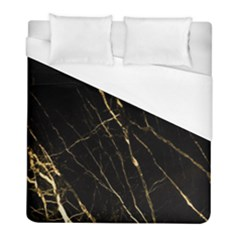 Black Marble Duvet Cover (full/ Double Size) by 8fugoso