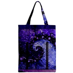 Beautiful Violet Spiral For Nocturne Of Scorpio Zipper Classic Tote Bag by jayaprime