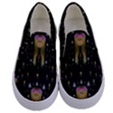 Queen In The Darkest Of Nights Kids  Canvas Slip Ons View1