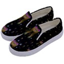 Queen In The Darkest Of Nights Kids  Canvas Slip Ons View2