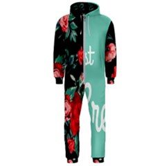Bloem Logomakr 9f5bze Hooded Jumpsuit (men)